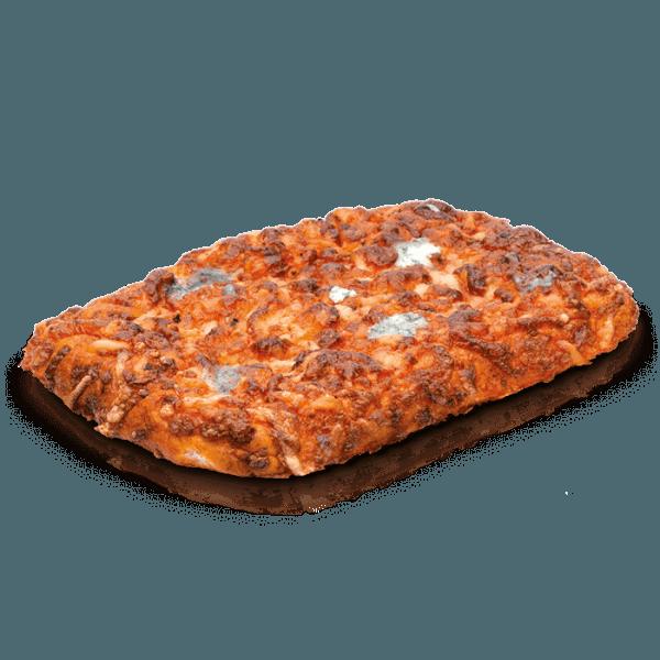 Pizza cuadrada 4 quesos