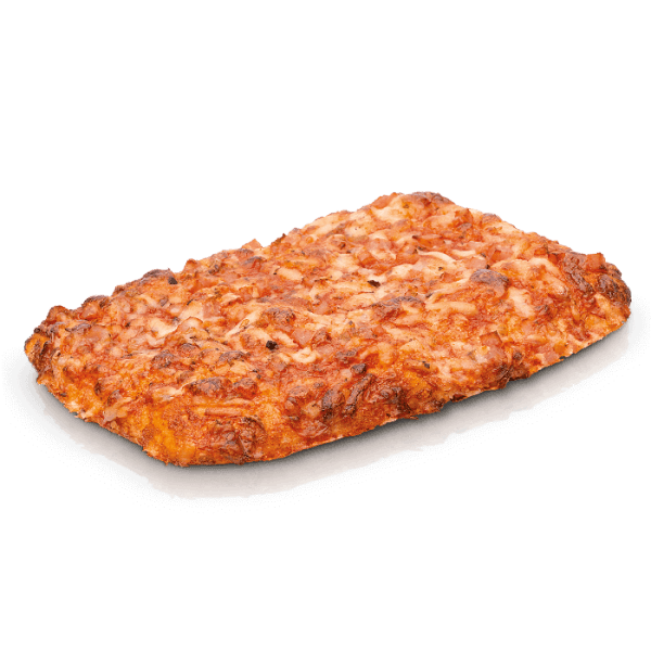 Pizza cuadrada york-queso