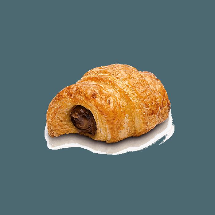 Mini croissant dátil-bacon