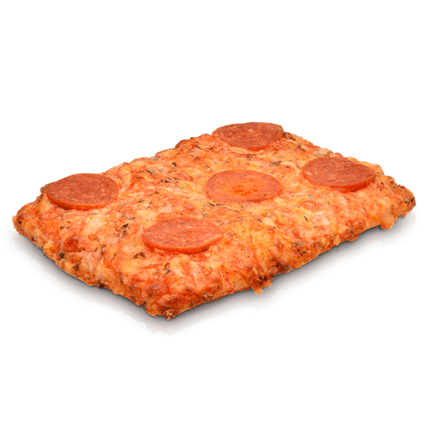 Pizza Cuadrada Pepperoni